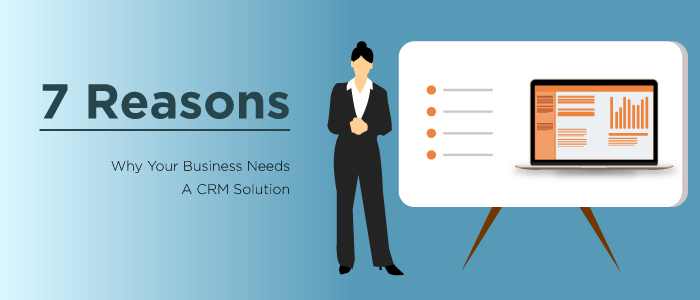 REASONS A CRM solution