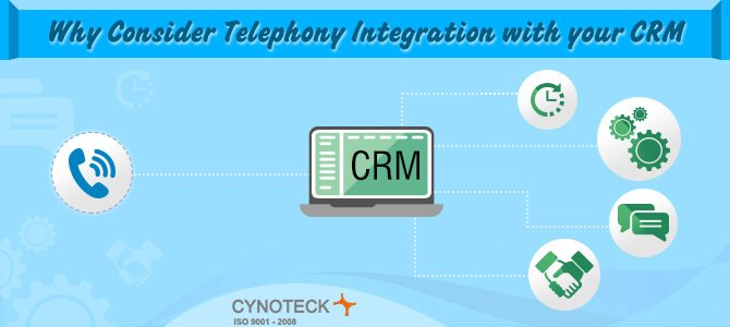 Why Consider Telephony Integration with Your CRM