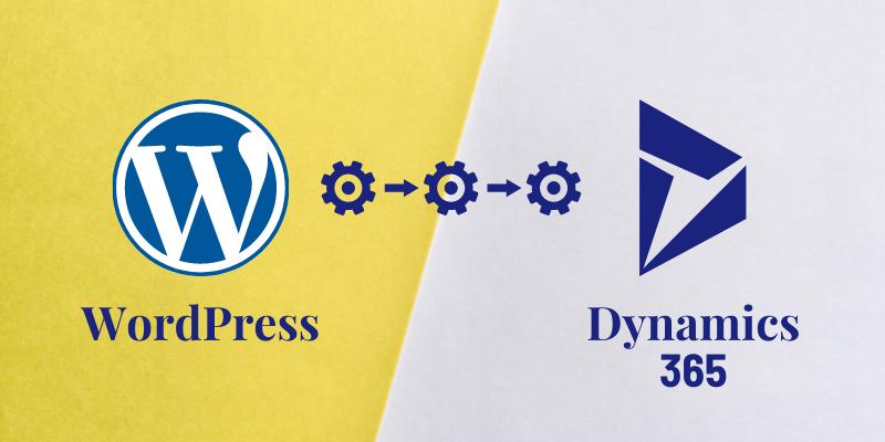 WordPress integration with Microsoft dynamics 365