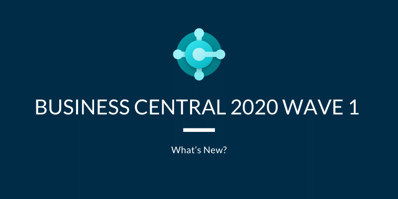 Business Central Wave 2020