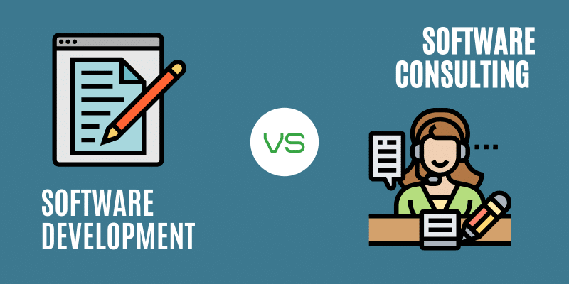 Software consulting vs software development
