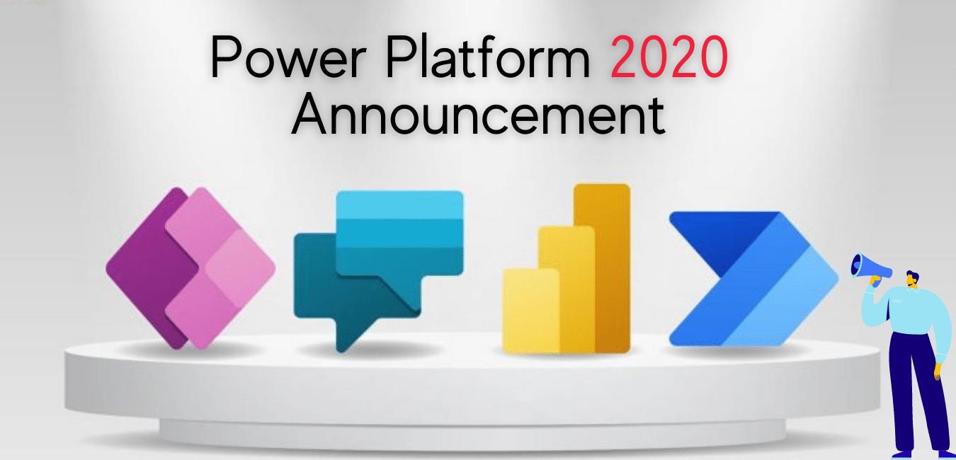 Power Platform 2020 announcement