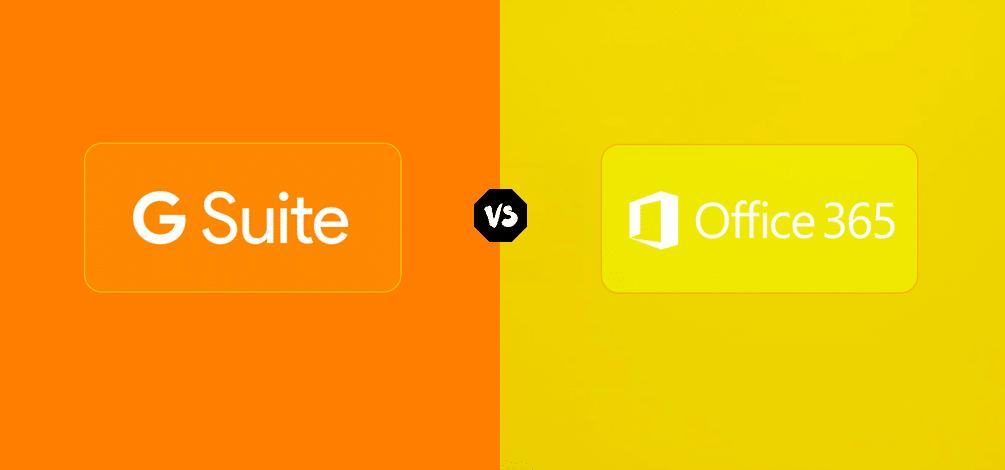 google g suite vs microsoft office 365