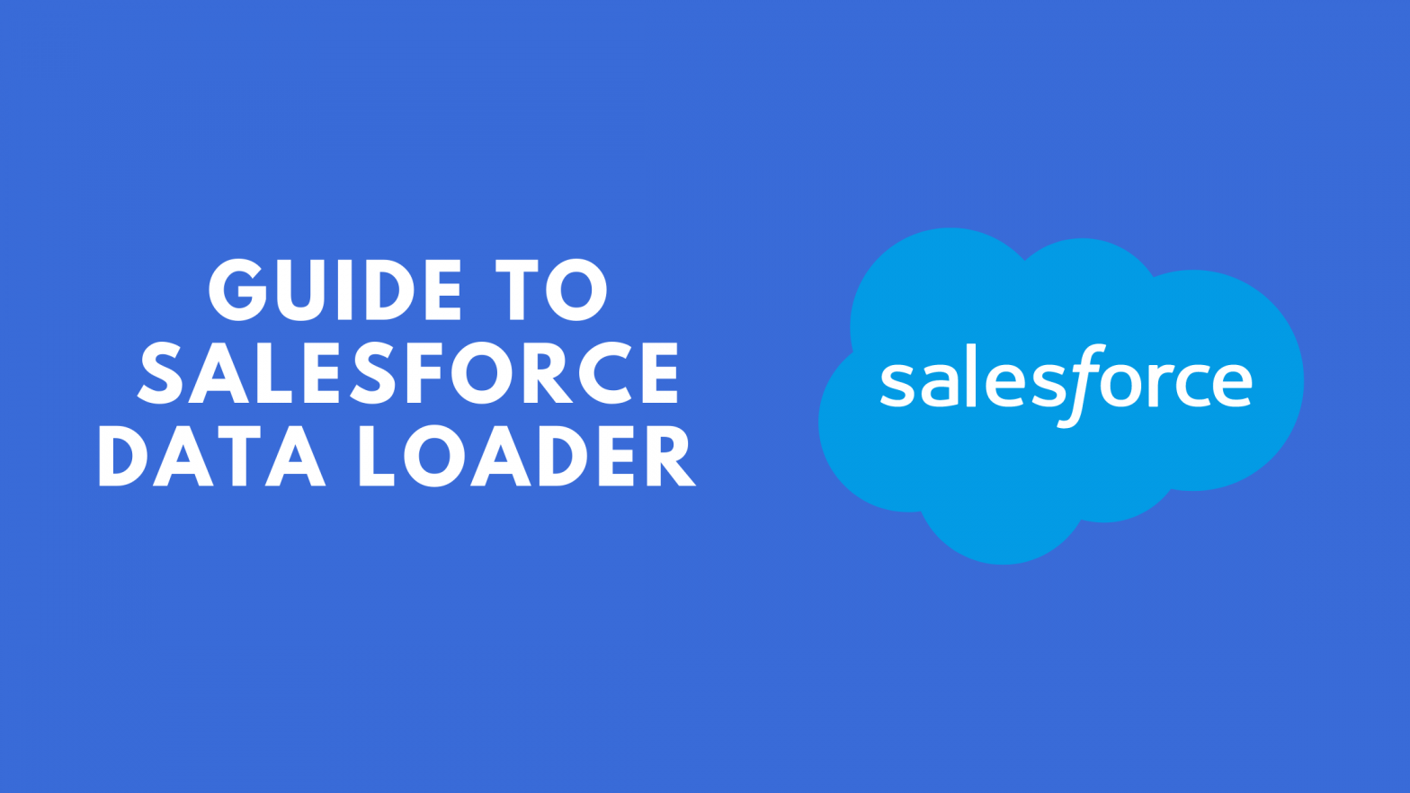 Salesforce data Loader