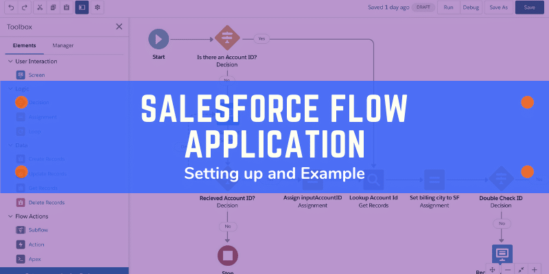 Salesforce Flow Application
