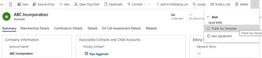 Adobe Sign for Microsoft Dynamics CRM