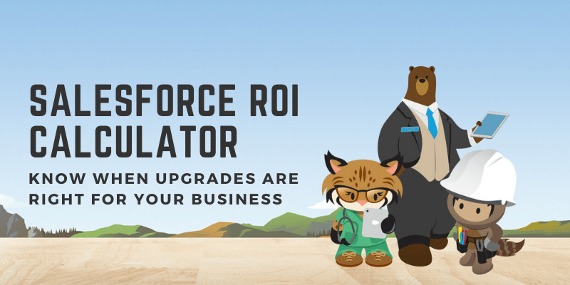 Salesforce ROI calculator