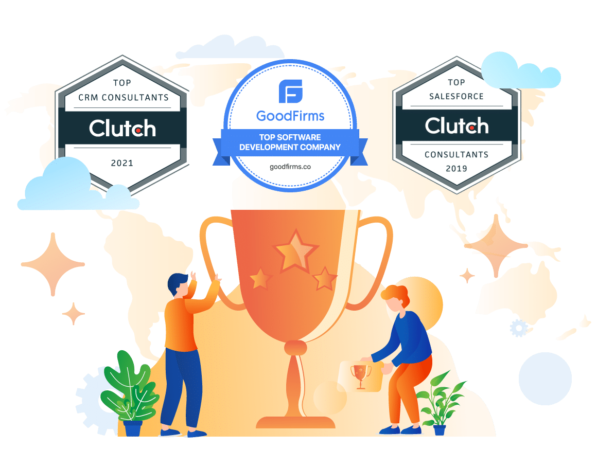 Top IT services provide and Top salesforce consultants by Clutch