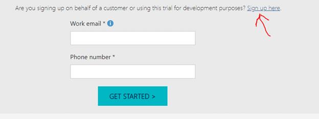How to create a Power Platform trial