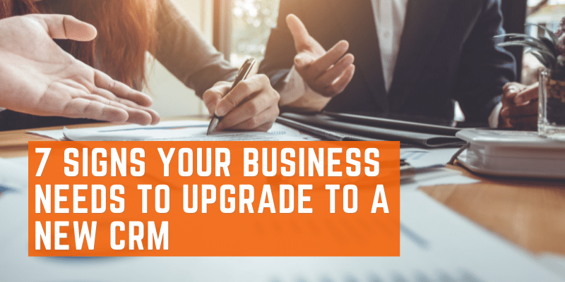 sigs business need to update crm