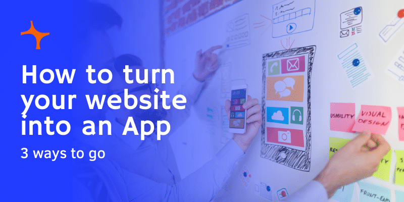 How to turn a website into an App